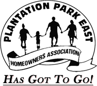 Plantation Park East HOA Has Got To Go! Logo