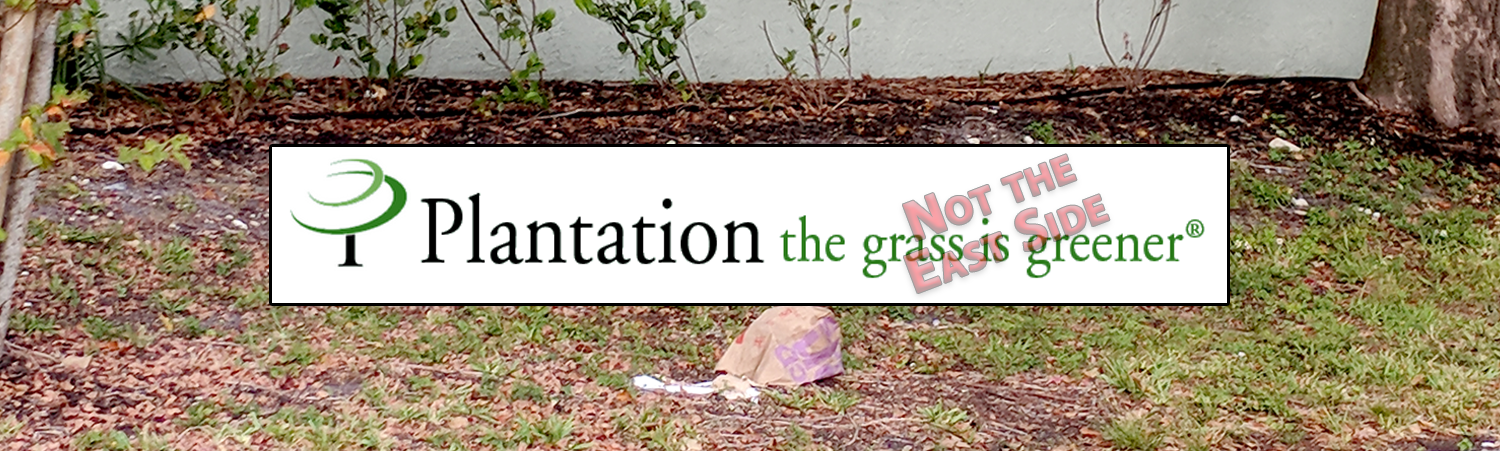 Plantation the grass is greener | Not The East Side
